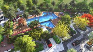 Phối cảnh hồ bơi dự án Piciti High Park