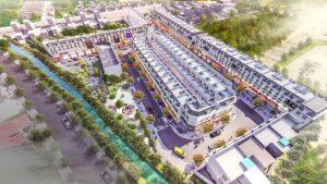 Phối cảnh dự án đất nền Mall Tow Bình Dương