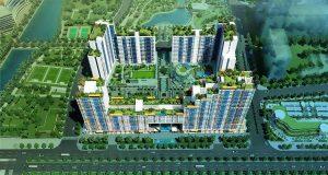 Phối cảnh 3D Tông thể Dự án căn hộ New City Thủ Thiêm Quận 2