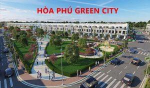 Phối cảnh Dự án Hòa Phú Green City